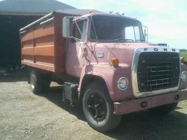 1972 Ford F750 Grain Truck For Sale