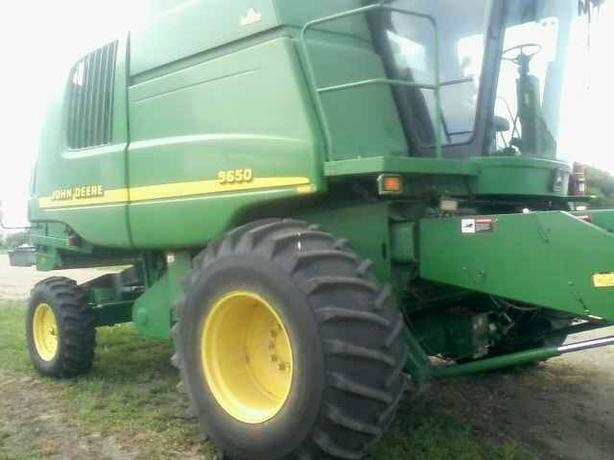 ***REDUCED - 2000 John Deere 9650W Combine and Headers For Sale