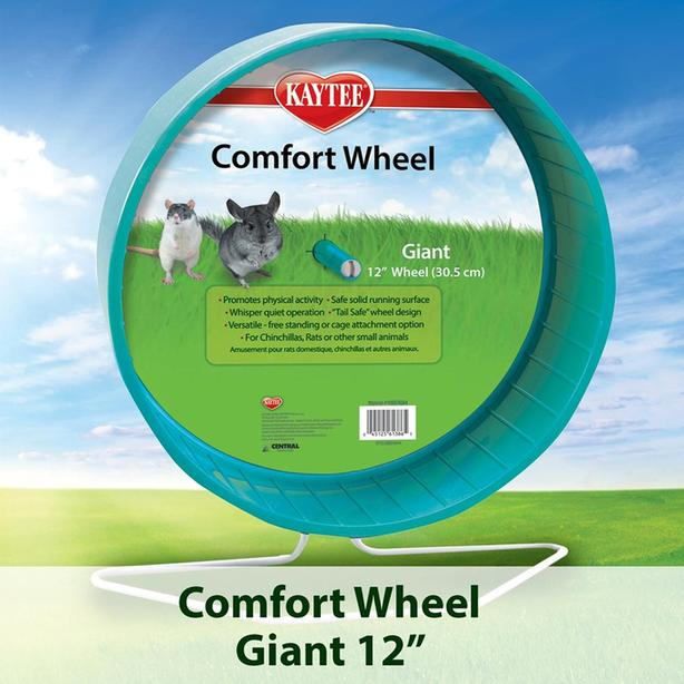 "12"" Giant Green Pets Exercise Wheel"