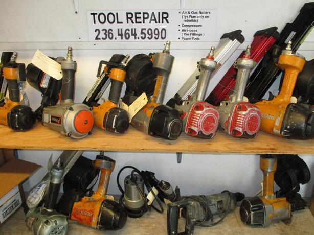 Pneumatic Nailer Repair, Compressors & Other Power Tools