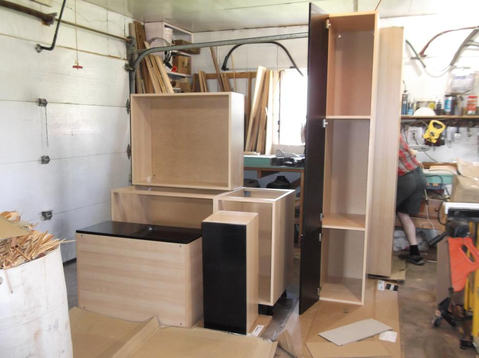 "Kitchen cabinets 17'x10'3 ""NEW"" Reduce Price Kensington, PEI"