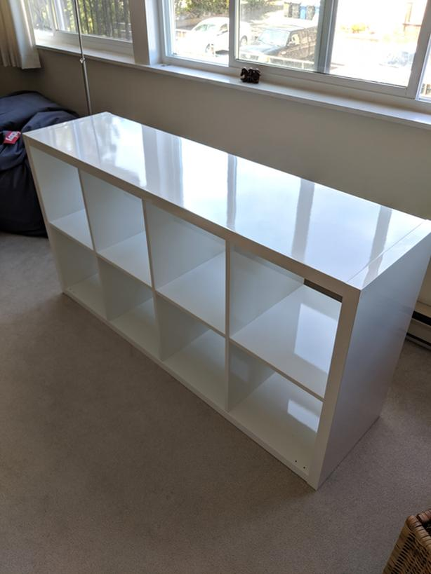 best cheap f8146 688b7  Log In needed $100 · Ikea Kallax Shelf - High Gloss White