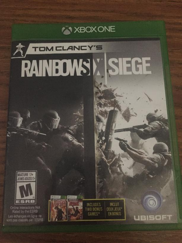 Xbox One Rainbow Six Siege