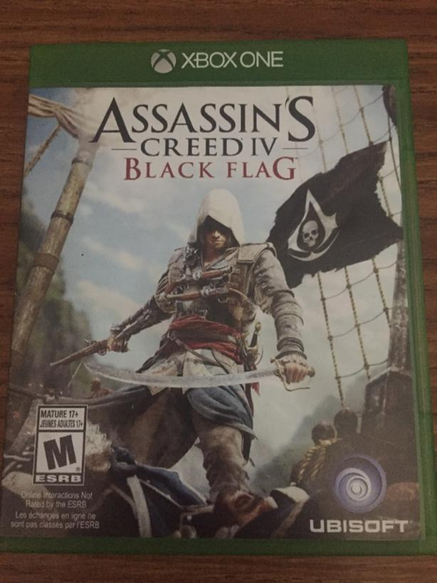 Xbox One Assassin's Creed 4 Black flag