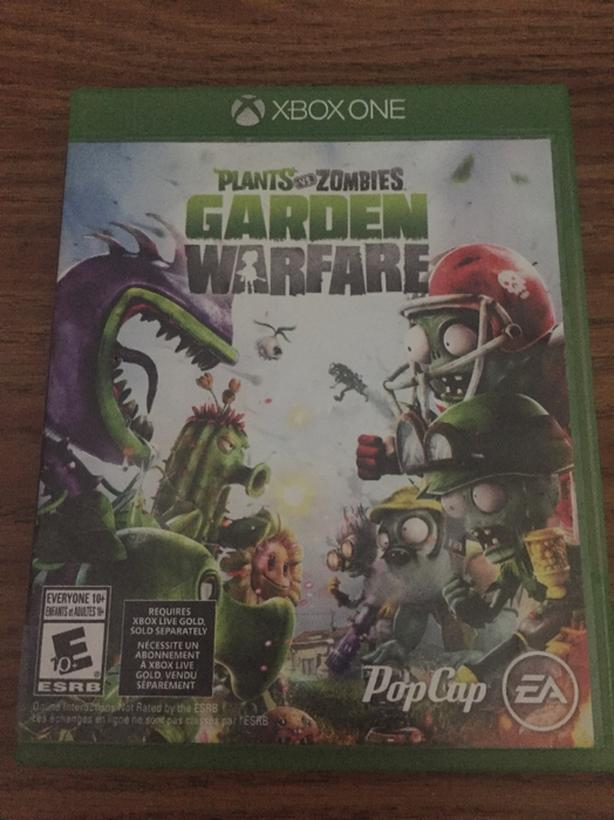 Xbox One Plants vs. Zombies Garden Warfare