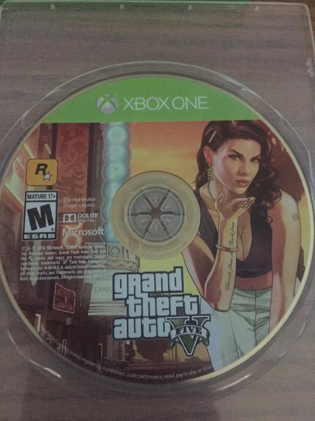 Xbox One GTA Grand Theft Auto 5 V Five
