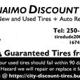 """New 235/60R14""""Tires"""