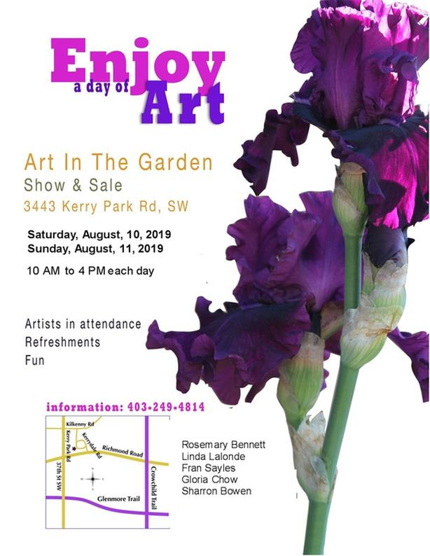 Tenth Annual Art in the Garden Show and Sale