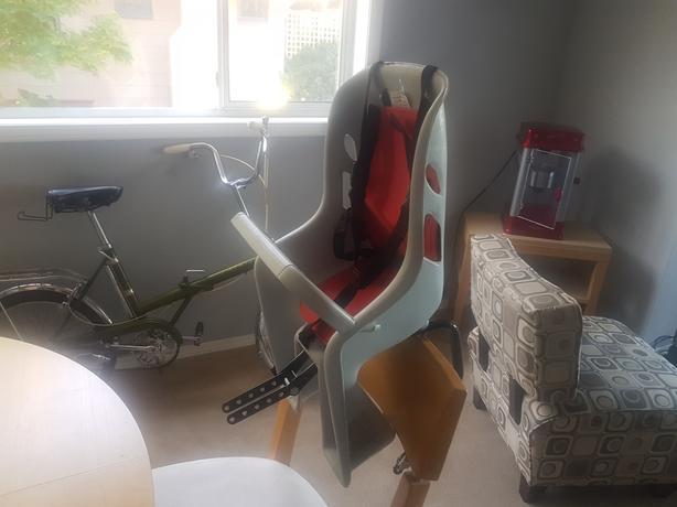 BELL TODDLER REAR BIKE SEAT ...
