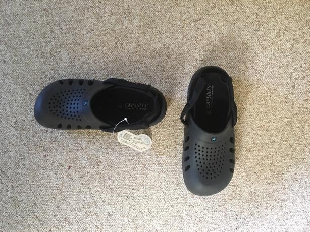 Capsoles Slip-on Clogs  Fits size men's 8 1/2 US ladies 10 US