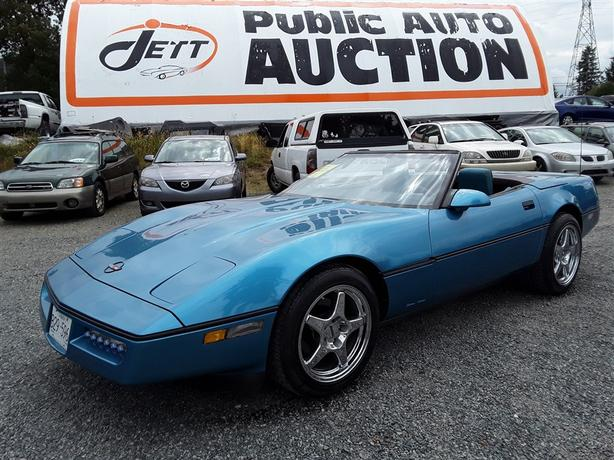 "1987 CHEVROLET CORVETTE ""ESTATE AUCTION"""