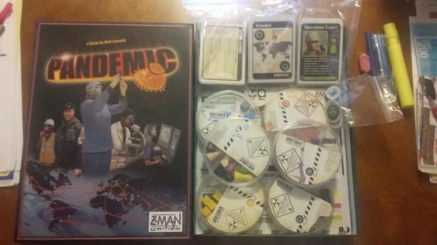 FOR-TRADE: Pandemic (with On The Brink Expansion) Board Game