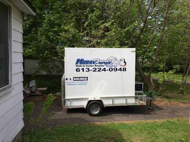 MOBILE REFRIGERATED TRAILERS