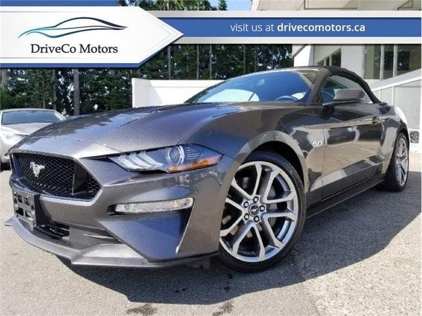2019 Ford Mustang GT Premium Convertible  - Leather Seats