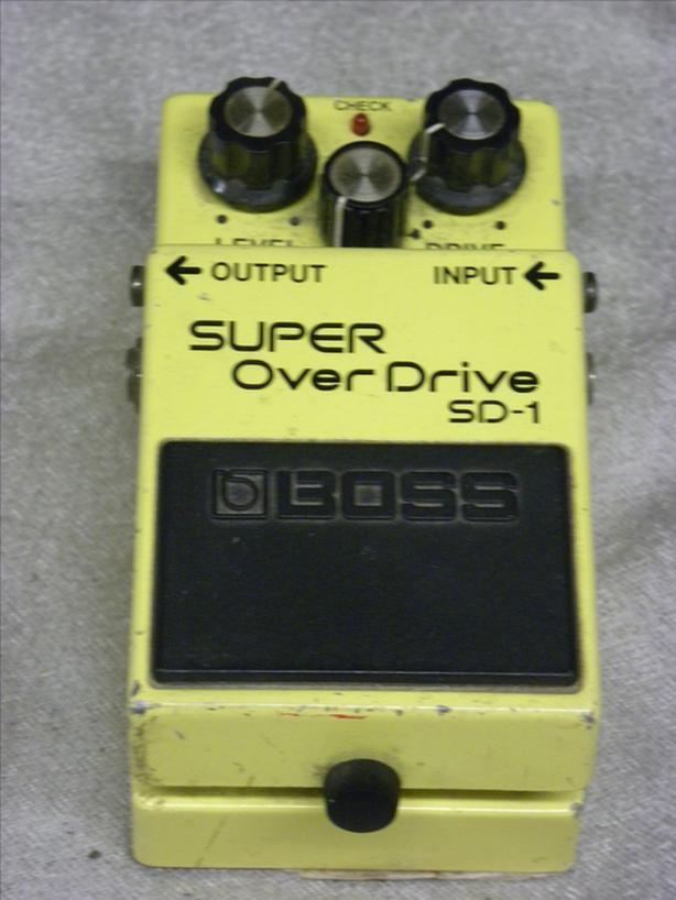 #160906-2 Boss Super Overdrive guitar pedal JAPAN