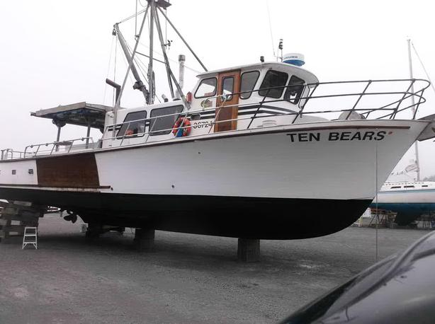 Commercial Salmon, Crab Charter Vessel & Permit For Sale - Ten Bears
