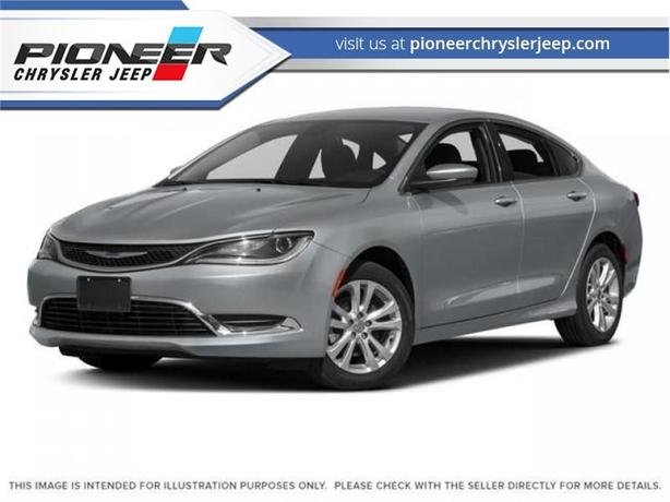 2016 Chrysler 200 Limited  $125 BI/W  UConnect