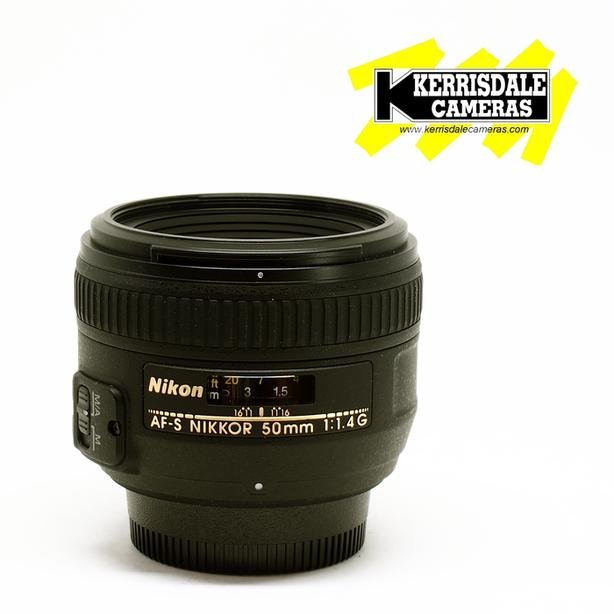 Nikon 50mm F1.4 AFS G