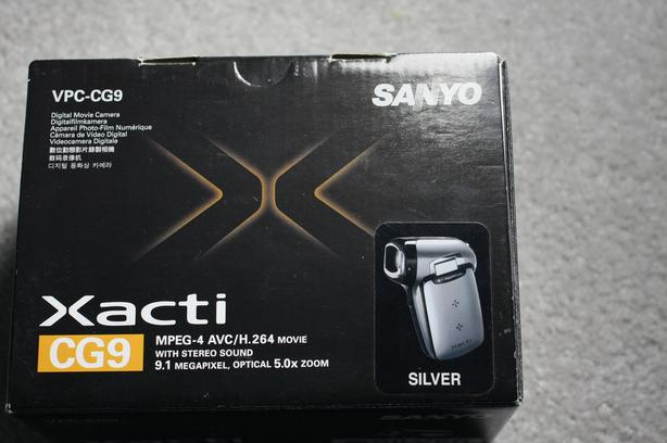 Sanyo Xacti CG9 digital movie camera
