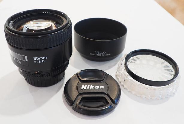 Nikon AF-D NIKKOR 85mm f/1.8D Lens