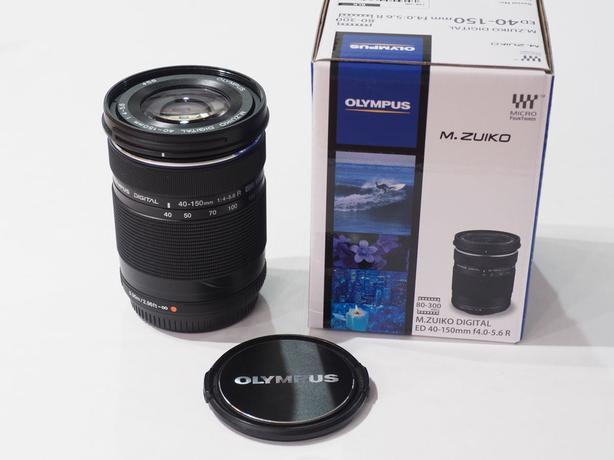 Olympus 40-150mm F4.0-5.6 R Zoom Lens (Black)