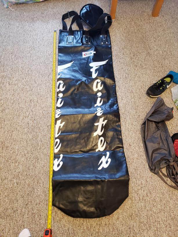 New Fairtex Unfilled Punching Bag