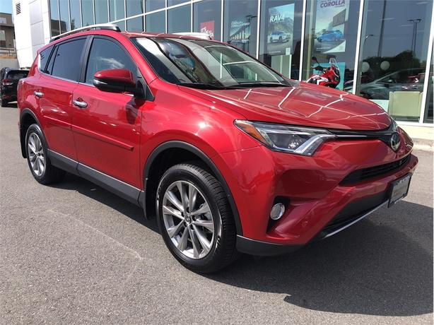 2017 Toyota Rav4 Limited AWD No Accidents Local Victoria