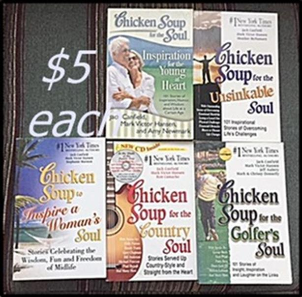Chicken Soup for the Soul Books $5 Each
