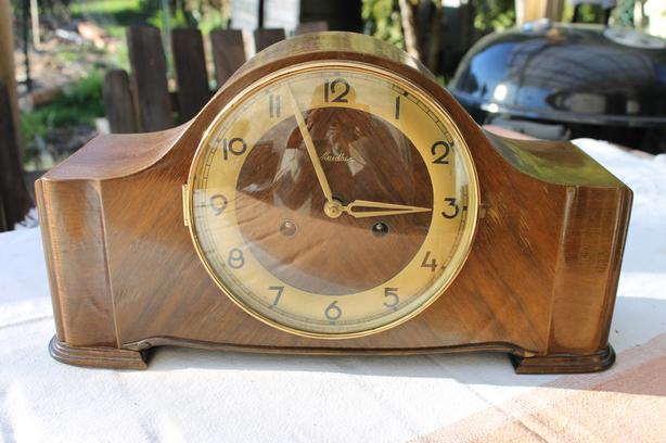 Mauthe Mantle Clock with Really Big Sound