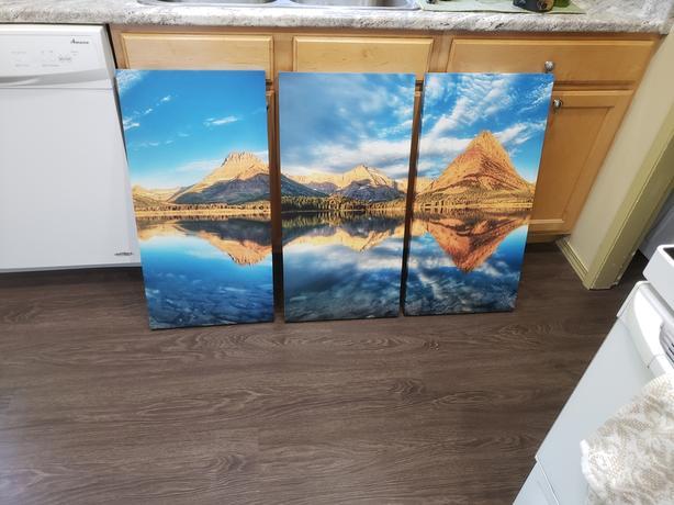 Free 3 panel wall art