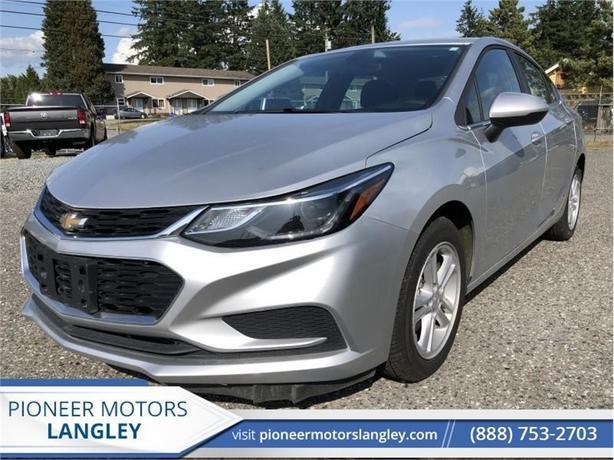 2017 Chevrolet Cruze LT  - Bluetooth -  SiriusXM - $105 B/W