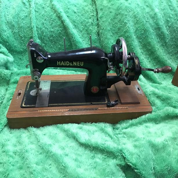 Vintage HAID & NEU sewing machine