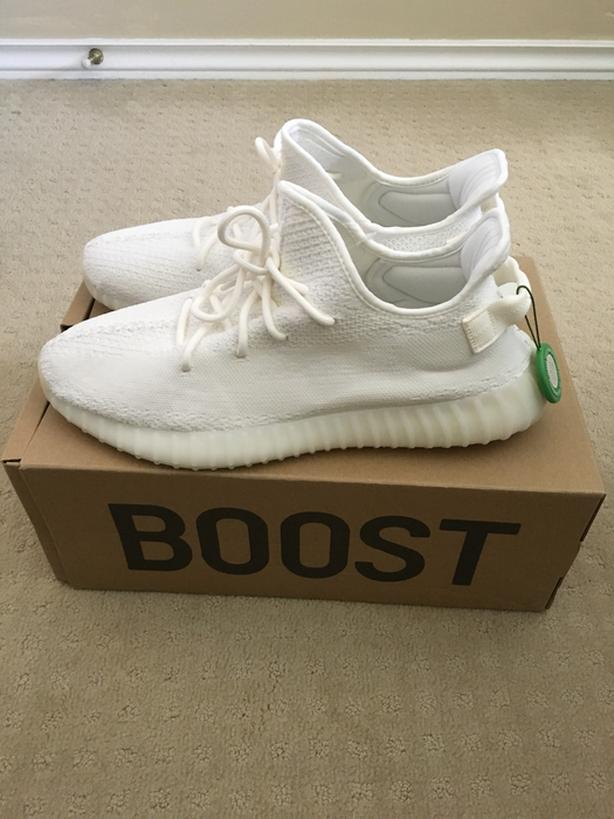 info for f1559 01c6d  Log In needed $400 · Size 13 Yeezy Boost 350 V2 Triple white/Cream