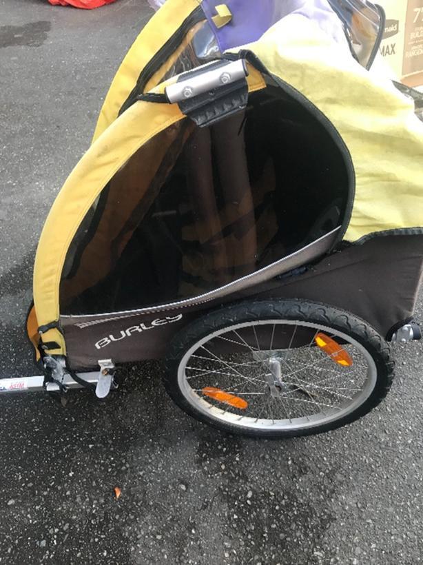 Burley cykel hookup