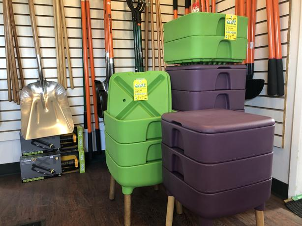Hot Frog Living Home Composter and it's Made in Canada !
