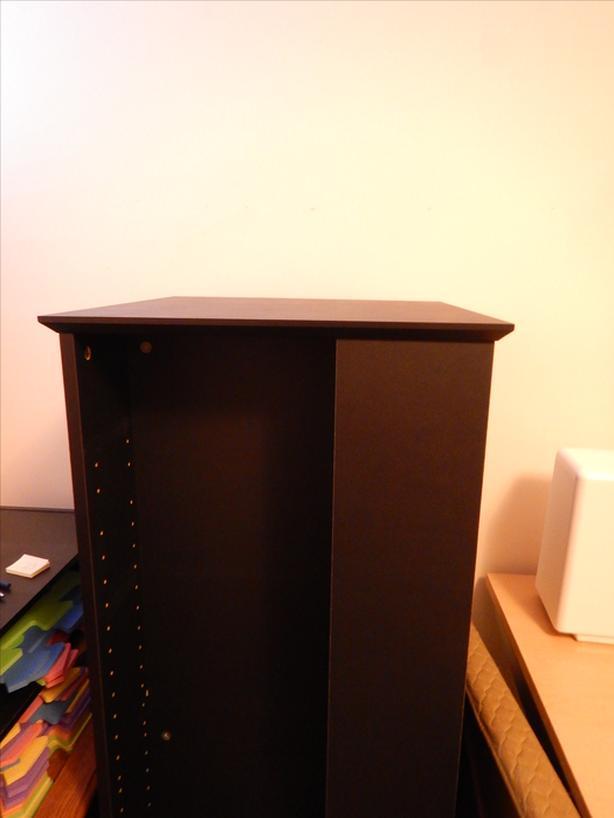 Rotating Media Tower (Black)