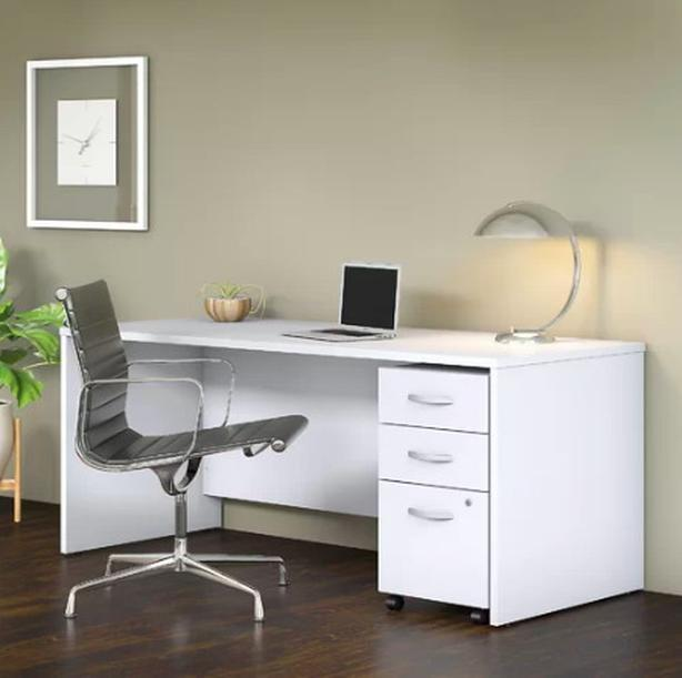 BRAND-NEW Wayfair Bush Business Exec Desk, Still In Box! - $385 (Vancouver)
