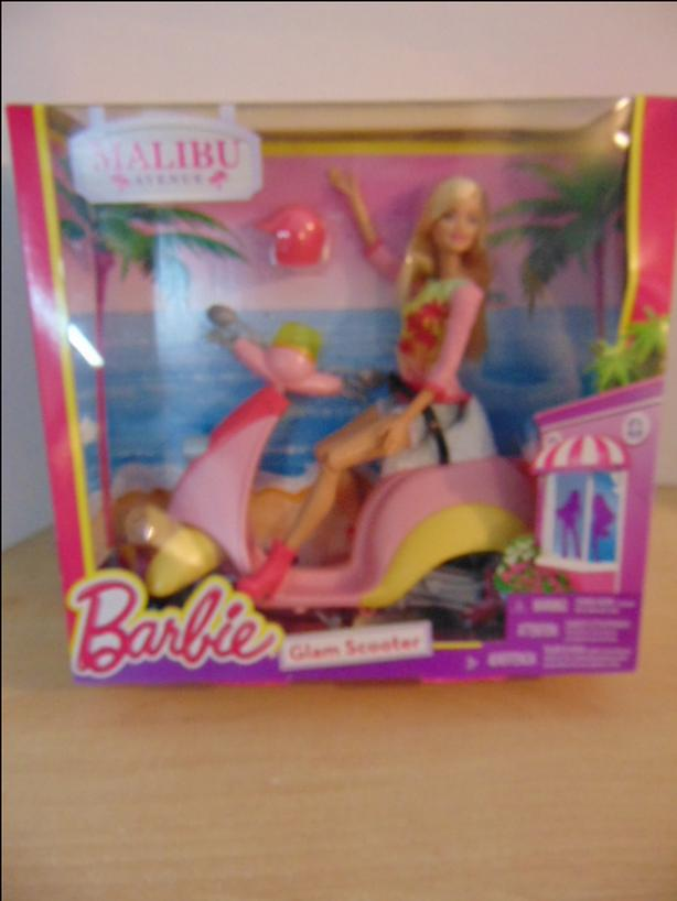  Log In needed $25 · Barbie Malibu Glam Scooter New Sealed In Box