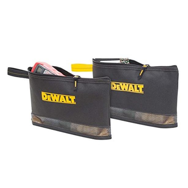 DEWALT Multi-Purpose Tool Storage Zippered Bag - 2pcs