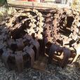 Bobcat steel mud tracks