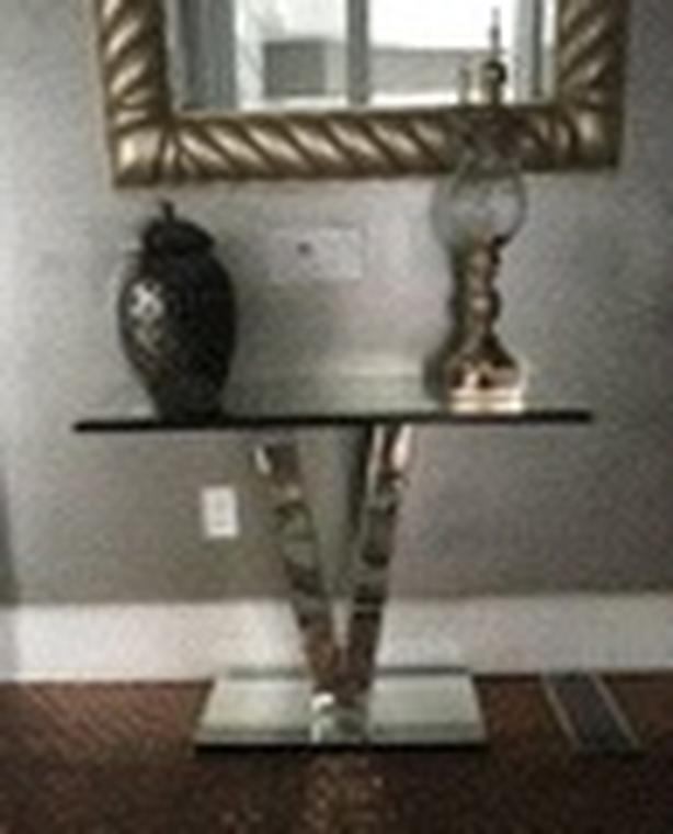 Mirror Accent Table
