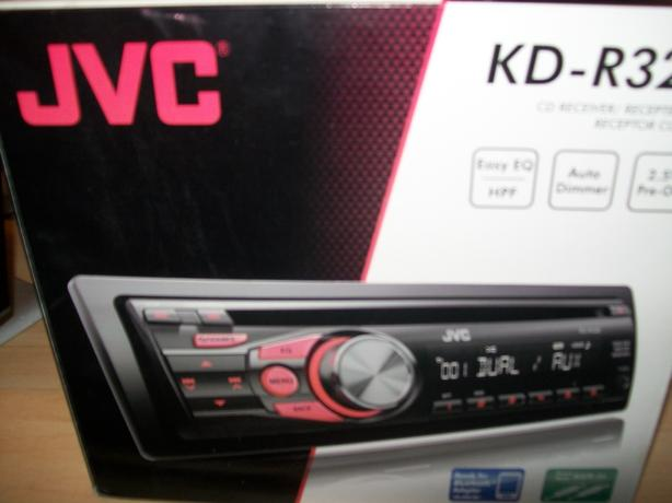 New JVC cd player/MP3 KD-RR328 Brand new in box never used for sale !!