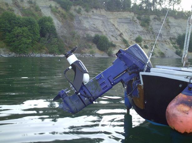 RT202EM 4 hp Min Kota salt water electric drive for larger boats