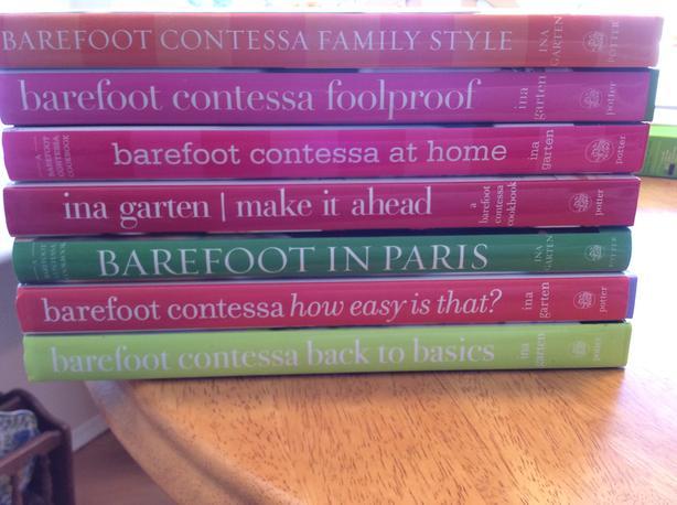 Barefoot Contessa Cookbooks