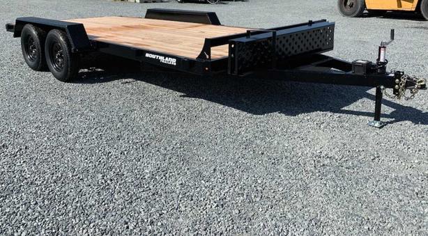 NEW 16' 10K flatdeck Car/Equipment Trailer on SALE