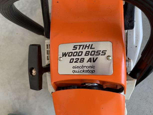 Stihl 028 Wood Boss Chainsaw Chain Saw With Hard Case