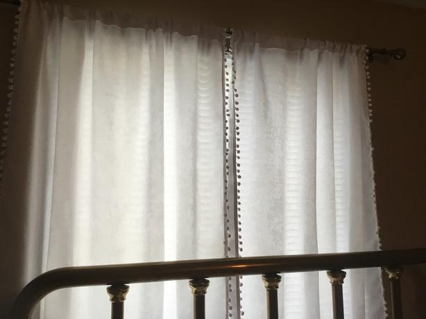 Lala & Bash lined drapes