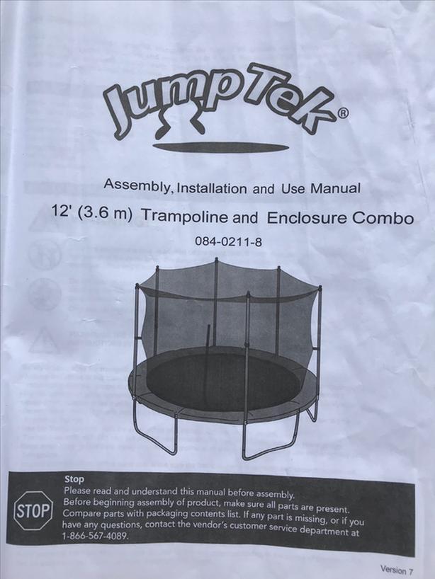 Jumptek Trampoline