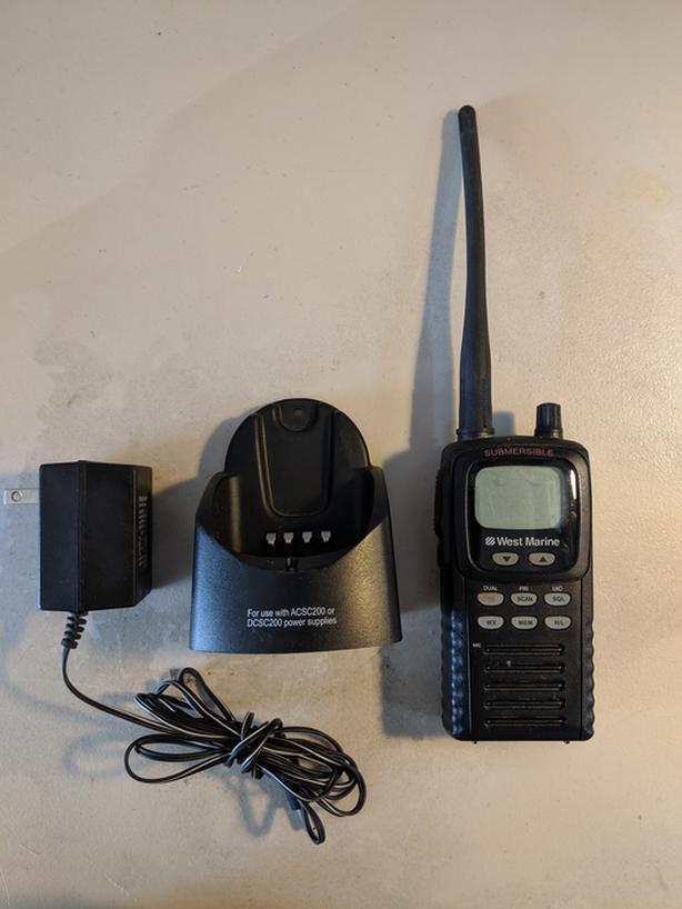 Handheld VHF radio Saanich, Victoria