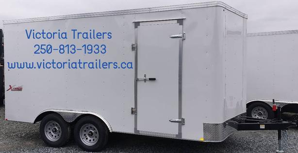 *ON SALE* NEW 7x14 Mirage TNT Xpres V-Nose Cargo Trailer with ramp door on SALE